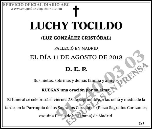 Luchy Tocildo